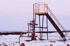 Oil Wellhead Stock Photography