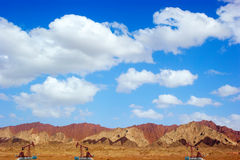 Oil wells Royalty Free Stock Photos