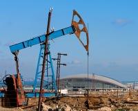 Oil Wells of Baku Stock Photos