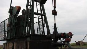 Oil wells stock footage