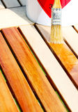 Oil Wood Furniture Royalty Free Stock Image