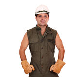 Oil worker Royalty Free Stock Photography