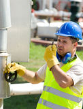 Oil worker Stock Photography