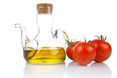 oilcan ντομάτες στοκ εικόνες με δικαίωμα ελεύθερης χρήσης