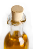 Oilcork. A nice isoloated oliveoilbottle with a cork Stock Photos