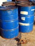 Oildrums al porto di Kaohsiung Fotografia Stock Libera da Diritti