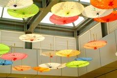 Oiled paper umbrella Royalty Free Stock Photo