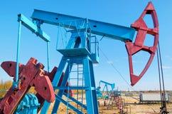 oilfield Arkivfoto