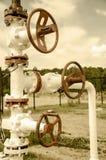 oilfield Fotografia Stock Libera da Diritti