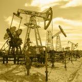 oilfield Immagini Stock Libere da Diritti