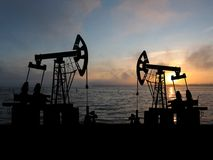 Oilfield Royalty Free Stock Images