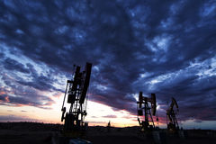 Oilfield beauty royalty free stock images
