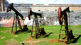 Oilfield equipment Havana Stock Image