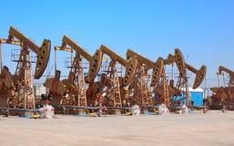 oilfield för porslinenergiolja royaltyfri foto
