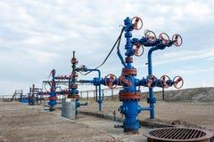 oilfield Huile et industrie du gaz de concept photo libre de droits