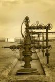 oilfield Huile et industrie du gaz de concept image stock