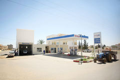 OiLibiya in Bir Al Huffay Royalty Free Stock Photography