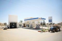 OiLibiya nel Bir Al Huffay fotografia stock libera da diritti