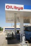 OiLibya Paliwowa pompa Zdjęcia Stock