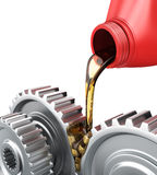 Oiling Gears Royalty Free Stock Image