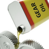 Oiling Gears Stock Images