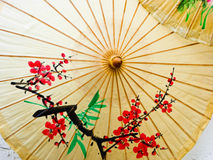 Oilpaper umbrella Stock Photography