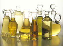 Oils stock images