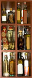Oils. Set of oils in the kitchen Royalty Free Stock Images