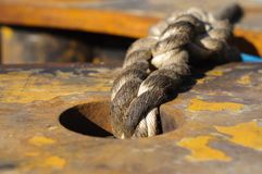 Oily rope Stock Photography