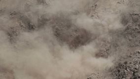 ointressant klimatkatastrof naturliga thailand stock video
