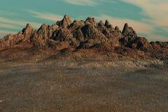 ointressant land Royaltyfria Bilder