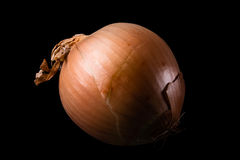 Oion. One big onion in space Stock Photo