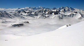 Oisans Mountain Stock Image