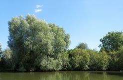 Oise river in Picardy Stock Photos
