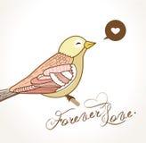 Oiseau illustration libre de droits