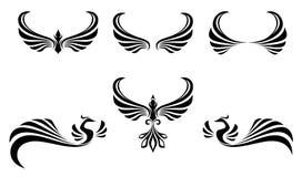 Tatouage de symbole de libert oiseau de vol avec de - Tatouage symbole liberte ...