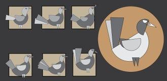 Oiseau Photographie stock