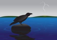 Oiseau. illustration stock