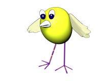oiseau 3d mignon Image libre de droits