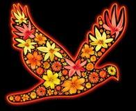 Oiseau abstrait Image stock