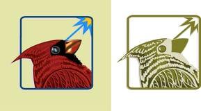 Oiseau cardinal Illustration de Vecteur