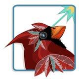 Oiseau cardinal Illustration Libre de Droits