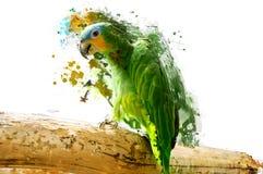 Oiseau, concept animal abstrait Images stock