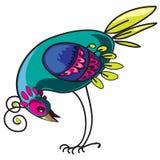 Oiseau curieux illustration libre de droits
