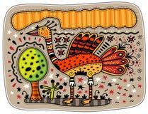 Oiseau décoratif Image stock