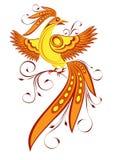 Oiseau décoratif illustration stock