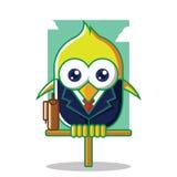 Oiseau d'affaires Image libre de droits