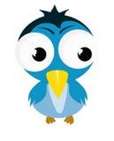 Oiseau d'amusement illustration stock