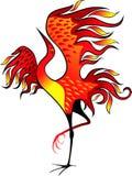 Oiseau d'incendie illustration libre de droits