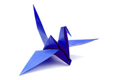 Oiseau d'Origami Photographie stock